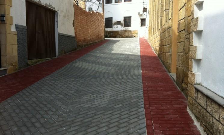Obras terminadas en la Calle Pósito