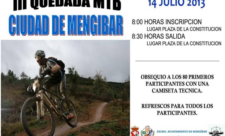 III KDD MTB Mengíbar