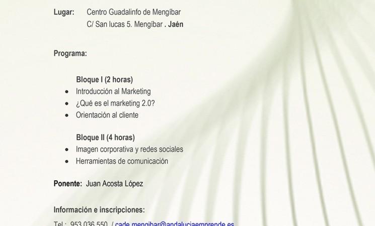 Curso de Marketing y Comunicación 2.0 en la Empresa