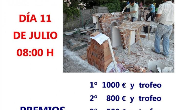 XV Concurso de albañilería