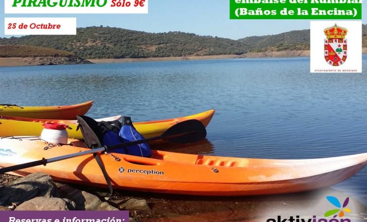 La Concejalía de Deportes organiza una travesía en Kayaks