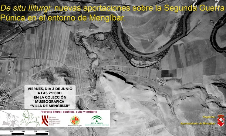 """Conferencia: """"De situ Iliturgi: Nuevas aportaciones sobre la II Guerra Púnica en el entorno de Mengíbar"""""""