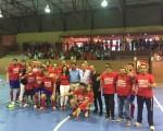 Recibimiento al Atlético Mengíbar FS en el Ayuntamiento de Mengíbar