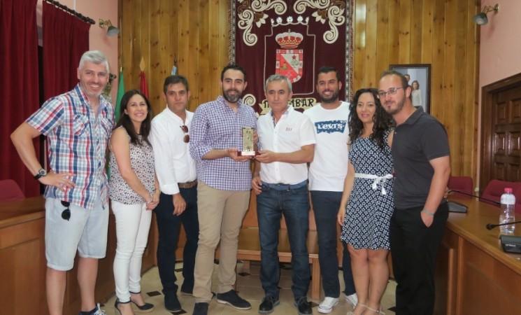 Recibimiento del CD Atlético Mengíbar por su ascenso a Segunda División