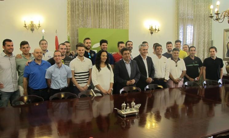 Diputación colaborará con el Atlético Mengíbar en su 'aventura' en la Segunda División del fútbol sala nacional
