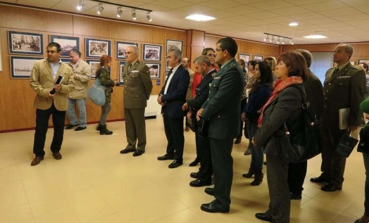 """Inauguración de la exposición temporal """"Hombres y Barcos"""" en Mengíbar"""