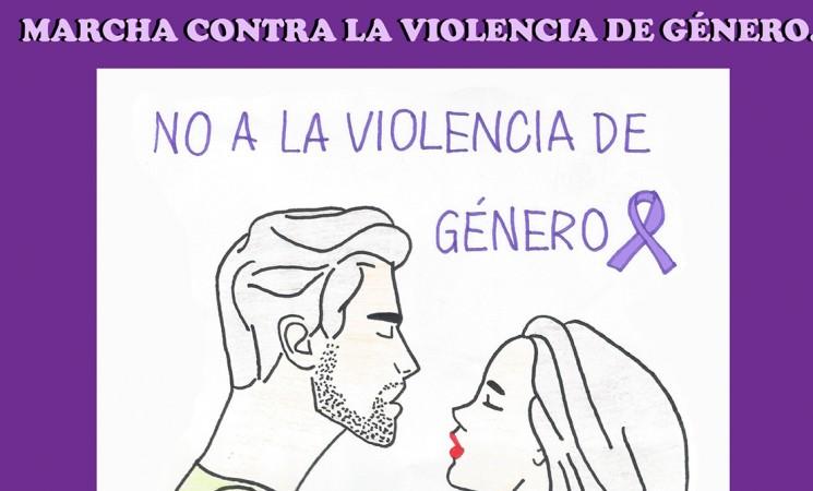 """Marcha """"Contra la violencia de género"""""""