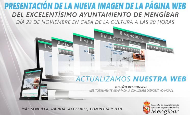 Presentación de la nueva web del Ayuntamiento