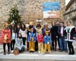 Los Reyes Magos comienzan su visita a Mengíbar