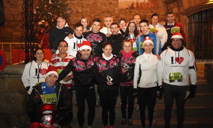 Más de 800 corredores en la II San Silvestre-Memorial Rubén