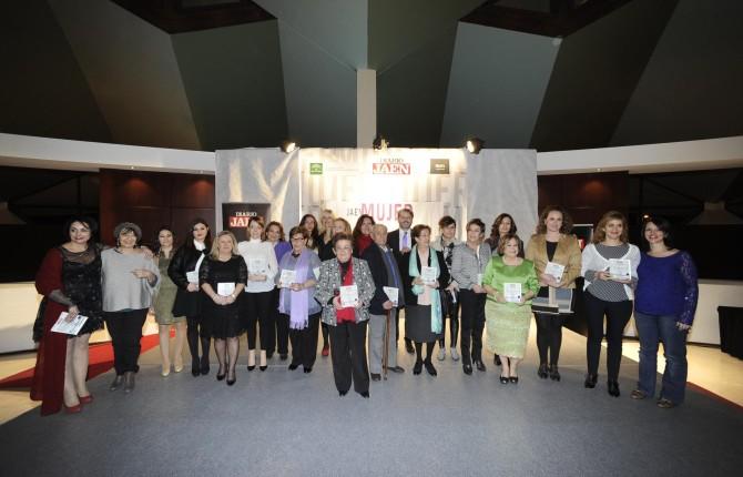 Imagen de los premiados. Fotografía: Diario Jaén.