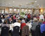 Más de 220 personas asisten al Almuerzo de la Tercera Edad