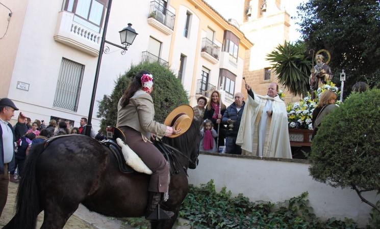Multitudinaria bendición de San Antón