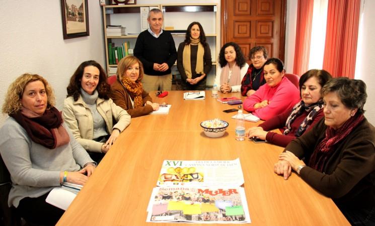 Reunión del Consejo de la Mujer para coordinar la semana dedicada a las féminas