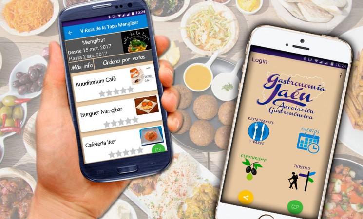 La Ruta de la Tapa 2017, en tu móvil con la APP de Gastronomía Jaén