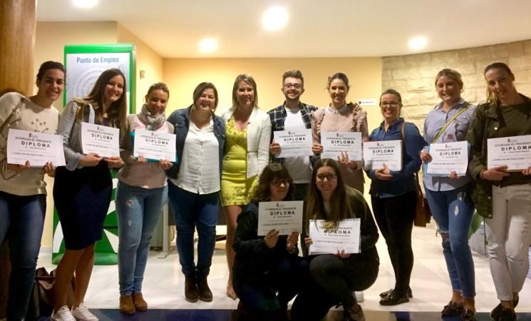Una docena de alumnos en el curso de metodología ABN