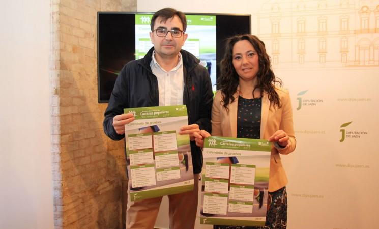 La Urbana de Mengíbar, protagonista en la presentación del IX Gran Premio de Carreras Populares 'Jaén, paraíso interior'