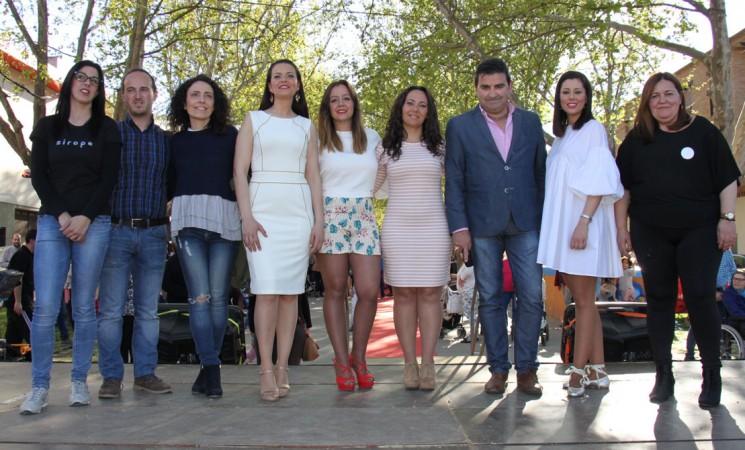 Desfile de moda en la II Feria del Comercio y de la Tapa de Mengíbar