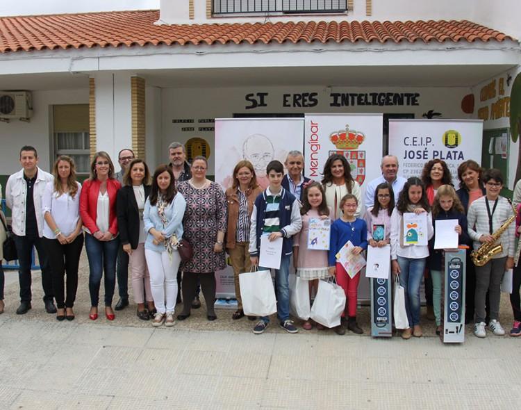 Entrega de Premios del I Certamen Literario Escolar Pepe Román en el CEIP José Plata de Mengíbar