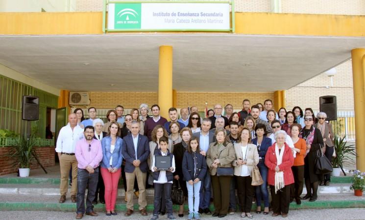 El Instituto de Mengíbar oficializa su nuevo nombre: María Cabeza Arellano Martínez