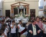 Multitudinaria Romería Infantil de la Virgen de la Cabeza en Mengíbar