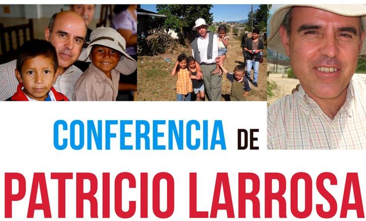 Conferencia de Patricio Larrosa, de Acoes (ONG candidata al Princesa de Asturias), este sábado