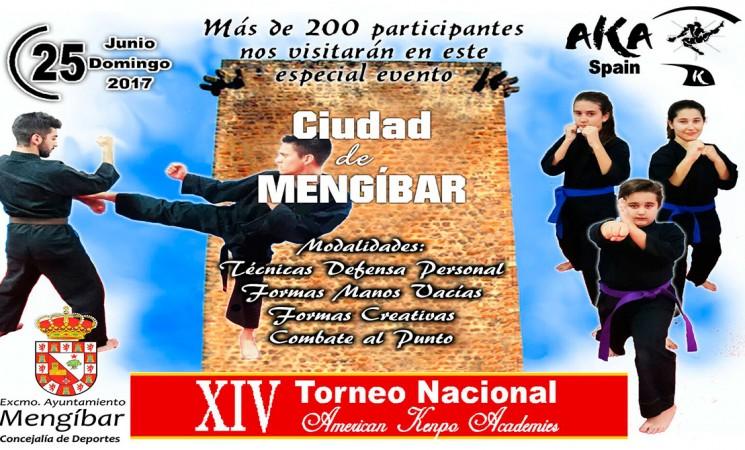 XIV Torneo Nacional American Kenpo Academies 'Ciudad de Mengíbar'