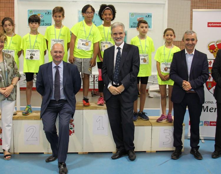 1.400 alumnos participan en la III Carrera Escolar por la Salud y el Medio Ambiente