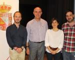 Patricio Larrosa expone sus proyectos de cooperación en Mengíbar