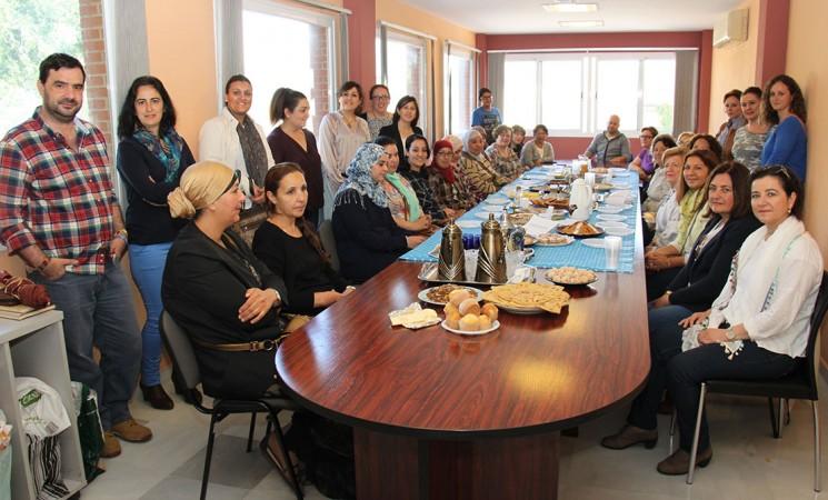 Encuentro gastronómico de integración en Mengíbar