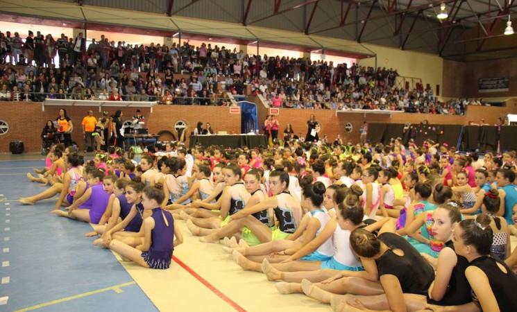700 gimnastas en el Trofeo del Club Ritmo de Andalucía celebrado en Mengíbar