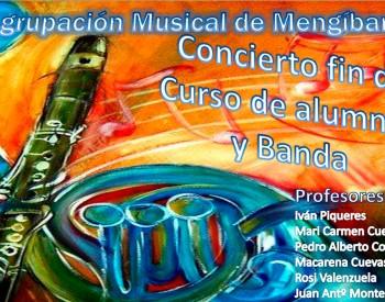 Concierto fin de curso de la Agrupación Musical de Mengíbar