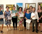 Clausura de la exposición del Taller Municipal de Pintura de Mengíbar