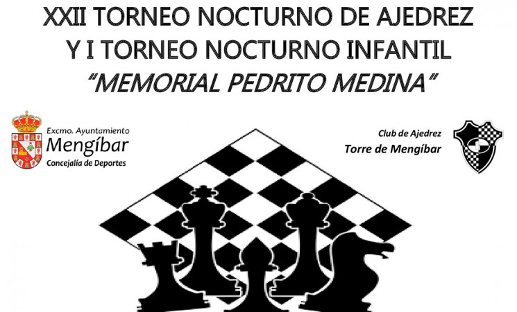 El Nocturno de Ajedrez de Mengíbar, este sábado 8 de julio