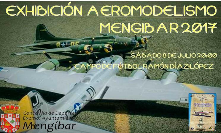 Exhibición de aeromodelismo en Mengíbar, este sábado 8 de julio
