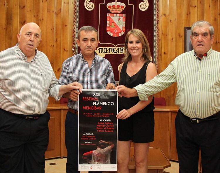 Presentación del cartel del XXII Festival Flamenco Mengíbar