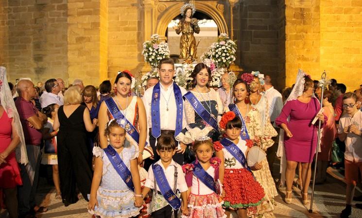 Procesión de La Malena en la Feria de Mengíbar (fotos y vídeo)