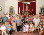 Misa para los mayores de Mengíbar en la ermita de La Malena