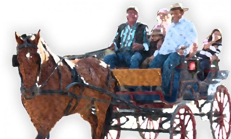 Paseíllo de caballos y enganches, el próximo domingo 16