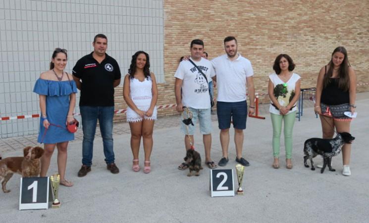 V Concurso Canino de Mengíbar en el Estadio Ramón Díaz López