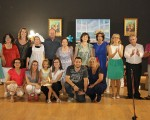 El Auditorio de Mengíbar se llena de risas con el nuevo teatro del grupo Santa María Magdalena