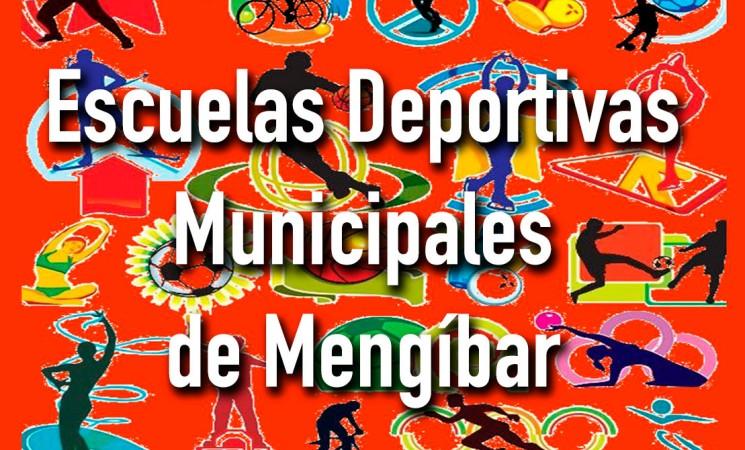 Abierto el plazo de inscripción para las Escuelas Deportivas Municipales de Mengíbar