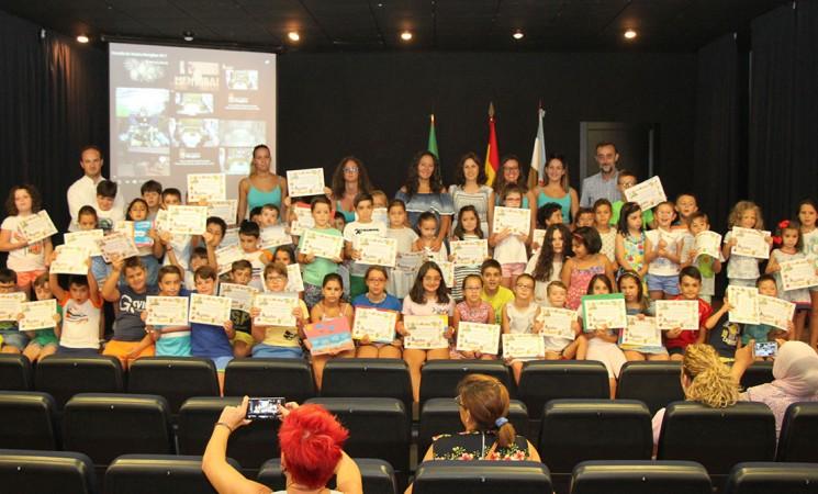 Fin de curso de la Escuela de Verano de Mengíbar (vídeo y fotos)