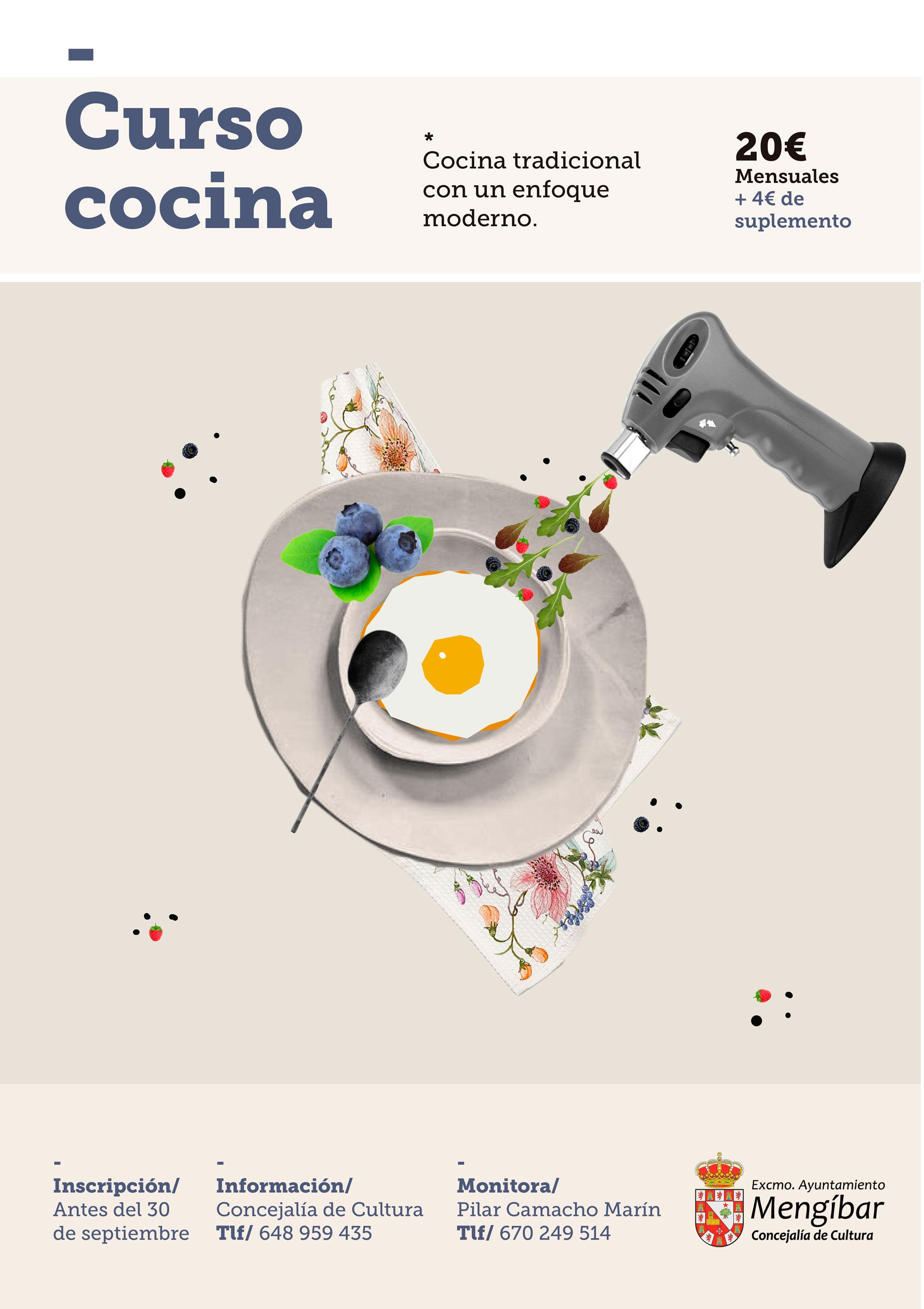 Taller municipal de cocina para adultos en meng bar for Curso cocina getafe