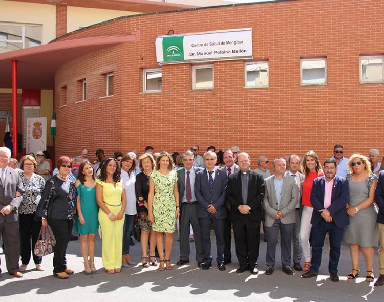 Mengíbar homenajea al doctor Manuel Polaina Bailón poniendo su nombre al centro de salud