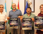 Presentación del cartel del Festival PlanetaDemos 2017 en el Ayuntamiento de Mengíbar