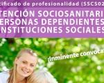 Curso de atención sociosanitaria a dependientes en instituciones sociales en Mengíbar