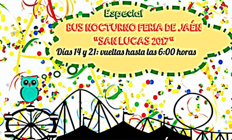 Autobuses especiales para la Feria de Jaén desde Mengíbar