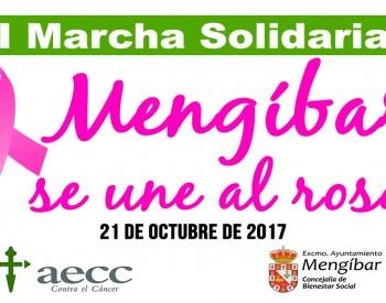 II Marcha Solidaria 'Mengíbar se une al rosa'