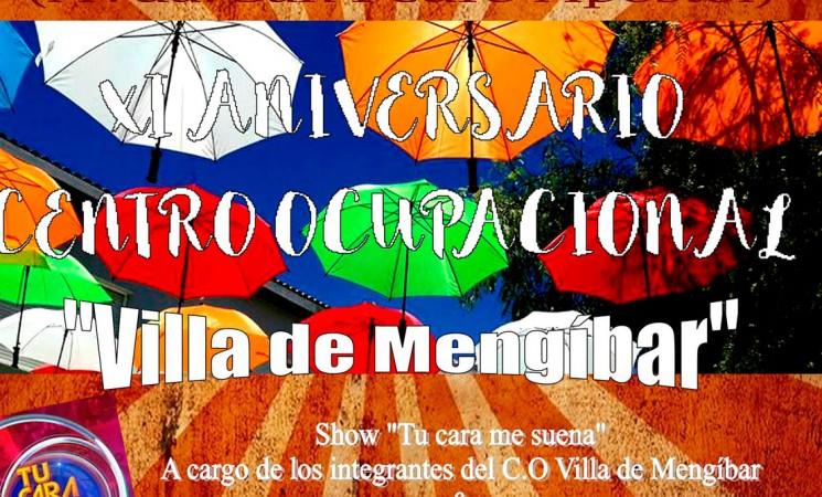 Fiesta del XI Aniversario del Centro Ocupacional Villa de Mengíbar, el domingo 29 de octubre